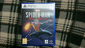 Spider-Man Miles Morales PS5 spiderman