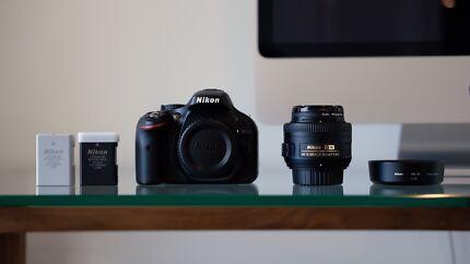 Nikon D5200 + 35mm f/1.8G Lens