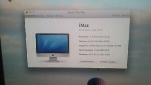 iMac 21.5 - inch - Late 2012 North Hobart Hobart City Preview