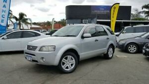 2006 Ford Territory SY GHIA AWD 7 SEATER Silver Automatic Wagon