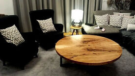 Oak coffee table – New, customized and tailored - D 150cm – 1,150£