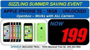 Apple IPhone 5C, Factory Unlocked, With Full Warranty