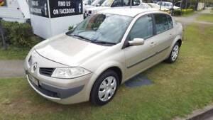 European Design - Low Km's & Automatic - '08 Renault Megane Sedan