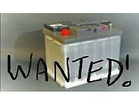Wanted old car batteries / alloys and scrap metal