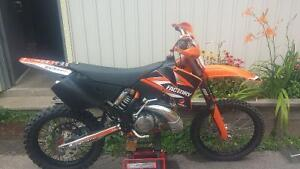 2002 Ktm 250 SX (XC GEARING) Good condition. Lots of extras.