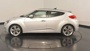 2012 Hyundai Veloster FS + Coupe D-CT Silver 6 Speed Sports Automatic Dual Clutch Hatchback