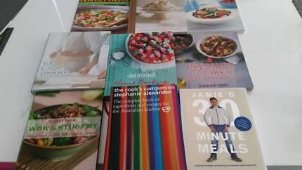 9 Cookbook Bundle $40