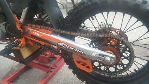 2002 Ktm 250 SX (XC GEARING) Good condition. Lots of extras. Peterborough Peterborough Area image 5