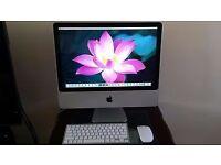 iMac 20 inch (Mid 2008) Core2Duo 2.4Ghz, 4GB Ram, 500GB HDD, RADEON HD 2400 Pro, El Capitan 10.11.5