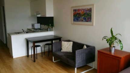 Studio Apartment Melbourne furnished large studio apartment at student village melbourne