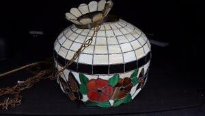 Stained Glass Antique Light Shade