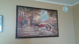 framed canvas picture