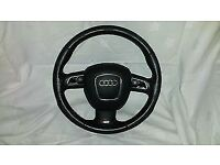 AUDI A4,A5,A6 B8 S LINE STEERING WHEEL WITH AIRBAG