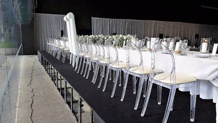 Clear - Transparent Louis Ghost Chair Hire