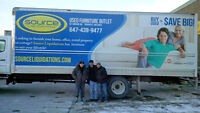 Furniture MoverS / PackerS needed for Used Furniture Store