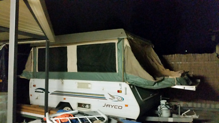 Jayco eagle tent section