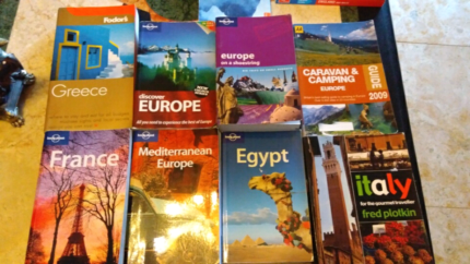 Greece France Egypt Italy and Europe and UK Lonely Planet