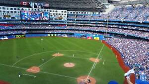 Toronto Blue Jays 500 level tickets at Face Value