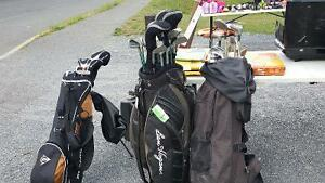 Golf clubs for sale