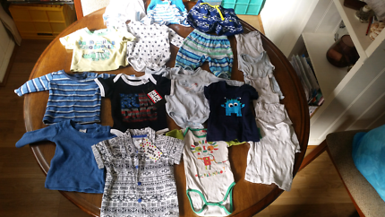 Size 0 Baby Clothes Lot-Some new with tags,some used.As in photos