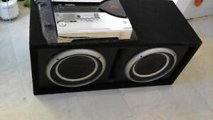 $150·Rockford fosgate   subs and amp