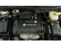 VAUXHALL ASTRA 1.6 16V Z16XEP TWINPORT ENGINE RECENT CAMBELT.