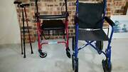 Mobility Aids- Walking Aid, Folding Wheelchair etc. Turner North Canberra Preview