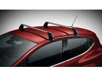 Genuine Renault Clio roof bars in as new order fit 2012 onwards