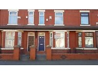 3 rooms to let. Modern House. Crofton St, Rusholme, Manchester. Student / professional preferred