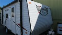 Get into a NEwravel trailer that sleep 4-6 people- under $20000.