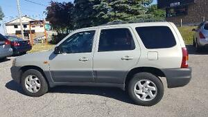 2004 Mazda Tribute Certified and E-Tested, low kilomiters