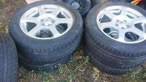 Tons of tires some on rims...listed below