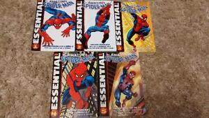 Essential Spider-Man volumes 1 - 5