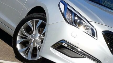 2016 Hyundai Sonata LF MY16 Premium Silver 6 Speed Sports Automatic Sedan