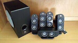 Logitech X-530 surround sound system 5.1 pickup Sydney NSW Lilyfield Leichhardt Area Preview