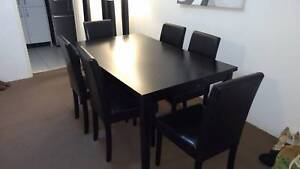 7 Piece Dining Table and Chairs Greenwich Lane Cove Area Preview