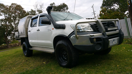 Toyota Hilux SR Diesel  4x4 Cab chassis