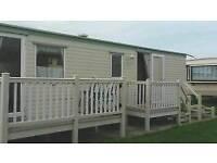 6 berth 2 bedroom caravan silverbeach