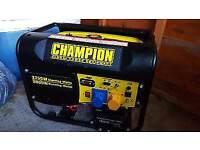Champion portable petrol generator