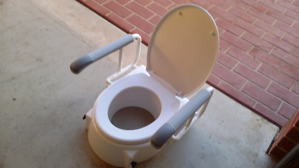 Medical toilet seat extention