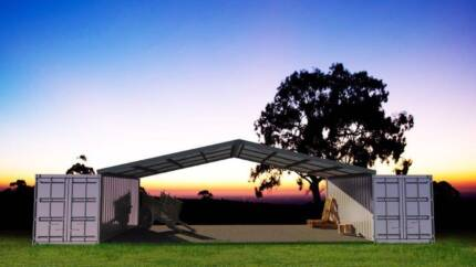 Shipping Container Shelters landed in Brisbane