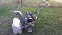 """This listing is for a Craftsman 22 """" 5HP snow blower."""