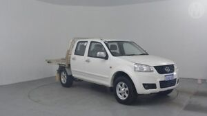 2012 Great Wall V200 K2 MY12 White 6 Speed Manual Utility Perth Airport Belmont Area Preview