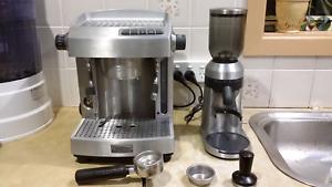 Sunbeam em6910 coffee machine in newcastle region nsw gumtree sunbeam cafe series em6910 grinder fandeluxe Images