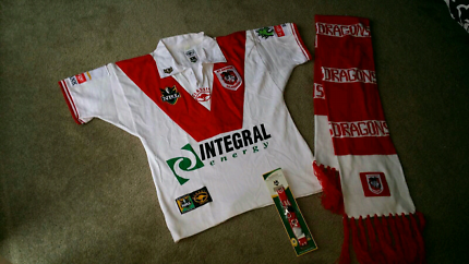St George NRL Jersey, Scarf and Strap Genuine NEW!!!