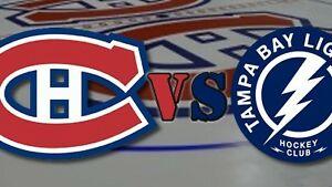 MONTREAL CANADIENS vs TAMPA BAY - LOWER BOWL TICKETS - APRIL 9TH
