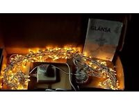 KEA GLANSA Hanging blue Chandelier Light Brand New Boxed
