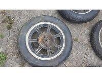 Yamaha XS250 XS400 SE US Custom Rear Wheel