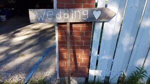 Wooden Wedding Sign Peterborough Peterborough Area image 1