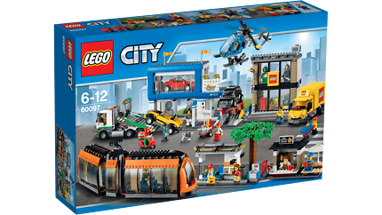 Lego 60097 -City Square Brand New in Sealed Box